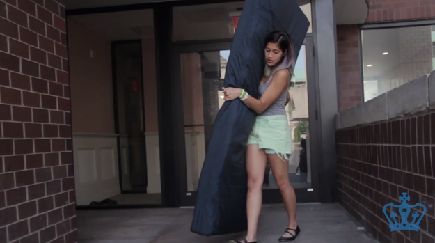 Columbia student carries mattress to raise awareness for sexual assault