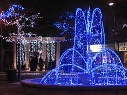 christmas decorations in greece