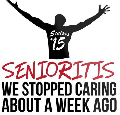 Seniors unite with Senioritis