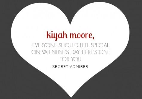kiyah secret admirer
