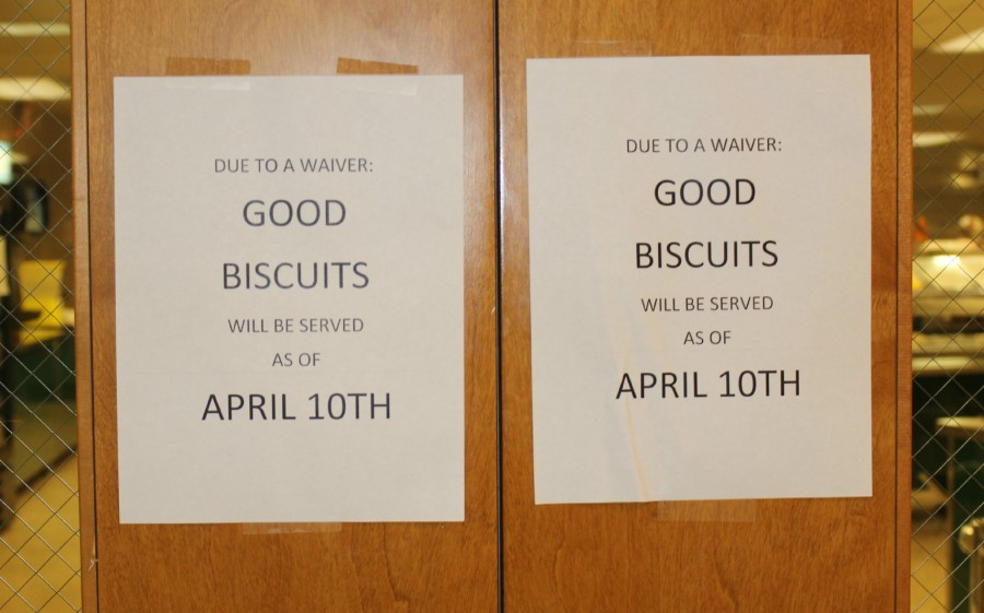 The cafeteria raises the hype for the biscuits