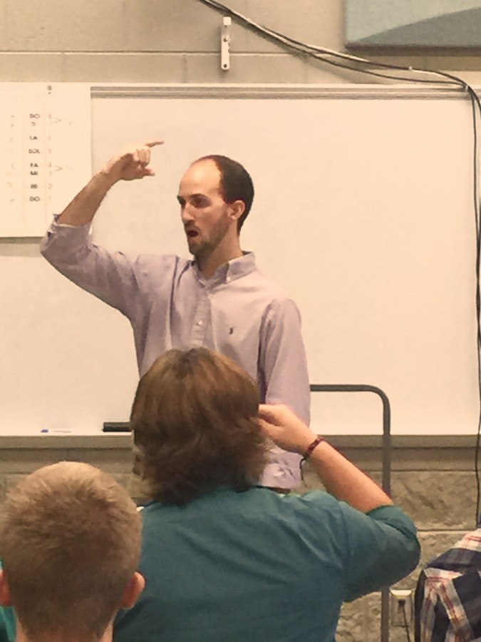 New teacher feature: Mr. Cross