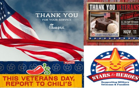 Veteran's Day Restaurants