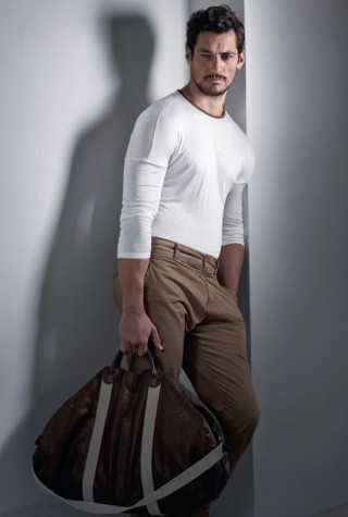 David Gandy is the highest paid male model in history.