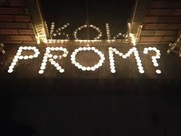 A junior at Niskayuna High School promposed to his girlfriend using candles.