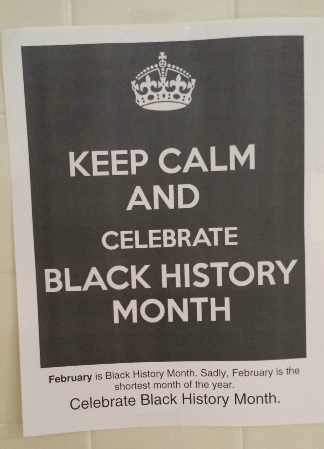 February means more than Valentine's day--it also means Black History Month. One student is taking strides to ensure this month is not overlooked.
