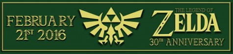 Legend Of Zelda, 30th anniversary