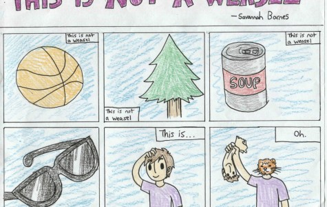 Senior Savannah Barnes creates a comic about what is and isn't a weasel.