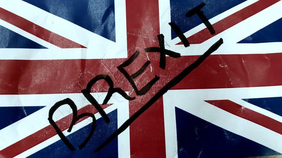 The United Kingdom leaves the European Union.