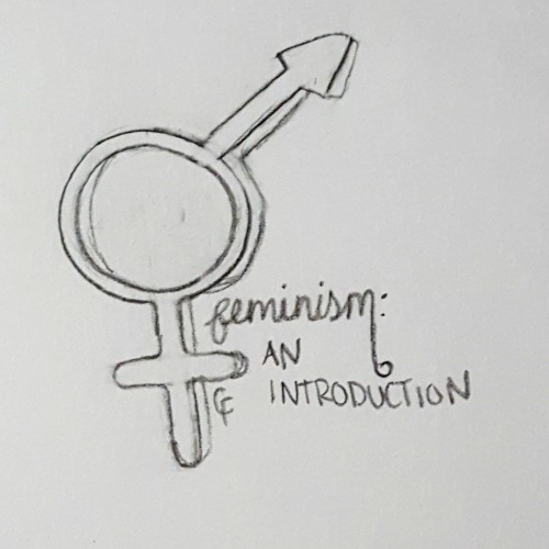 A drawing I created showcasing both feminine and masculine symbols.
