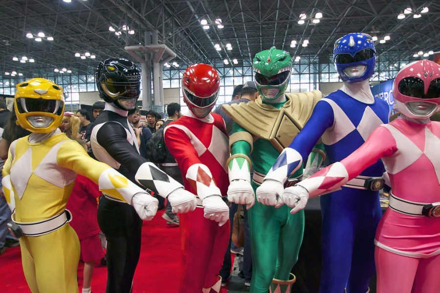 Attendants at New York Comic Con 2014 take on the appearance of their favorite Rangers.