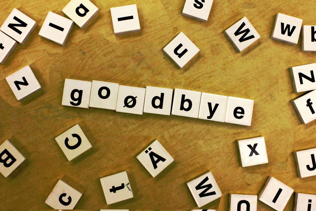 A Goodbye Letter