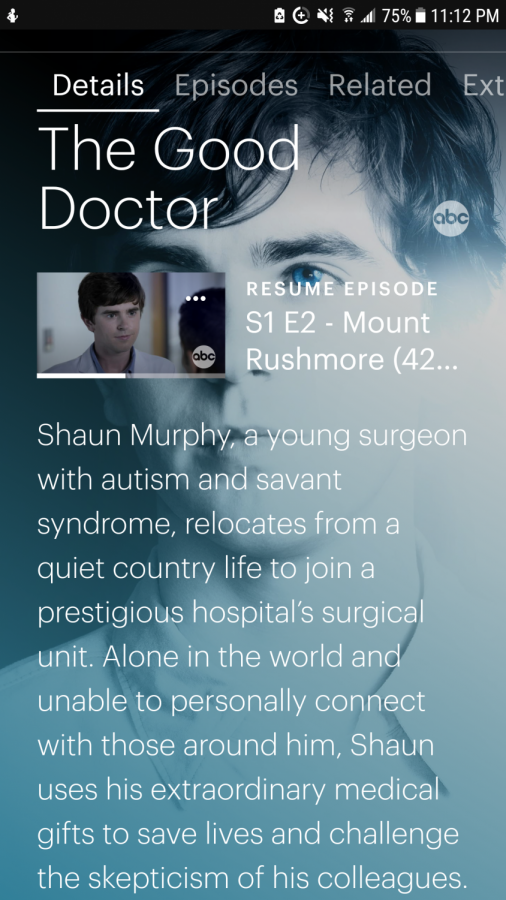 'The Good Doctor' on Hulu. Comes on television on Mondays and, usually, is put on Hulu the day after.