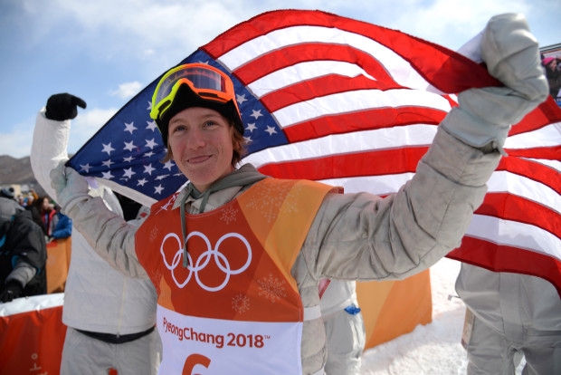 Silverthorne board-riding phenom Red Gerard stepped up in the highest pressure contest of his life and earned the U.S. its first gold of the PyeongChang Olympics. February 11, 2018. (Photo by Hyoung Chang/The Denver Post)